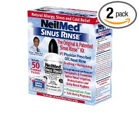 Neilmed sinus rinse kit  (pack of 2)