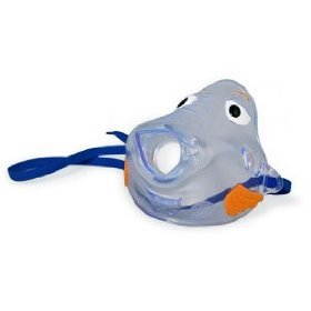 Pari bubbles the fish pediatric mask for pari nebulizer - model 044f7248