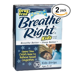 Breathe right nasal strips for kids