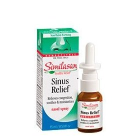 Similasan sinus relief nasal spray, 15-ml
