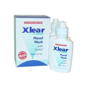 Xlear saline nasal spray - 3 pack 2.25 fl oz liquid