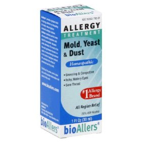 Natra-bio homeopathics bioallers mold/yeast/dust allergy relief