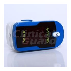 Pulse oximeter octive tech cen 2010 model with soft carry case c12