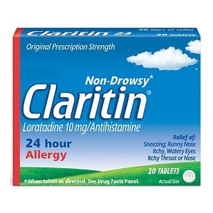 Claritin 24 hour allergy, tablets - 20 ea