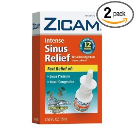 Zicam no drip liquid nasal gel with cooling menthol & eucalyptus, intense sinus relief, 0.5-ounce (15 ml) (pack of 2)