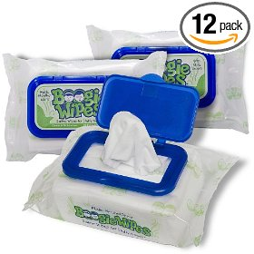 Boogie wipes, magic menthol (pack of 12)