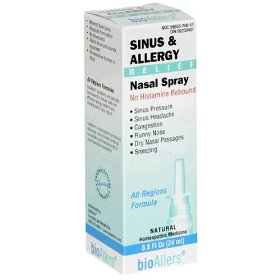 Natra bio - sinus & allergy relief, .8 fl oz spray