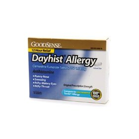 Good sense dayhist allergy, 1.34mg antihistamine tablets 16 ea