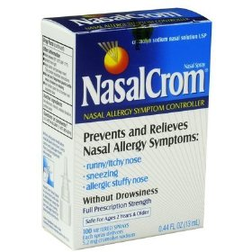 Nasalcrom nasal allergy symptom controller, nasal spray .44 fl oz (13 ml)