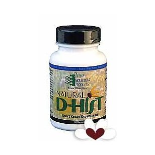 Ortho molecular products natural d-hist 120 capsules