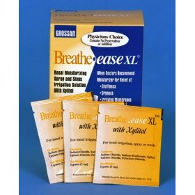Grossan breathe-ease xl nasal irrigation solution.