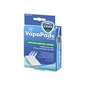 Vicks waterless vaporizer scent pads (6 pads)