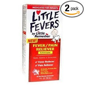 Little fever's fever/pain reliever infant drop  1-ounce (pack of 2)