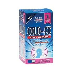 Cold fx extra strength 100 capsules