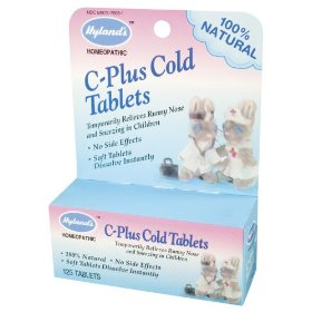 Hyland's - c plus cold tablets childrens, 125 tablets