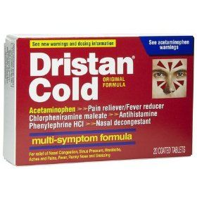 Dristan multi-symptom nasal decongestant, coated tablets 20 ea