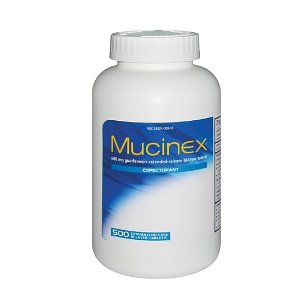 Mucinex expectorant, bi-layer tablets, 500 tablets