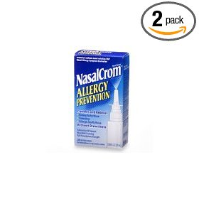 Nasalcrom allergy prevention nasal spray, 0.88-ounce spray bottles (pack of 2)