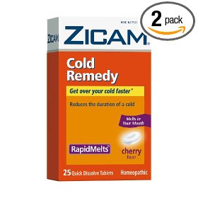 Zicam Allergy Relief Gel Swabs 20 Count Box