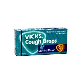 Vicks cough drops menthol - 20 x 20 pack