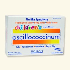 Boiron oscillococcinum for children
