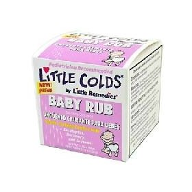 Little remedies little colds baby rub- 1.76 oz