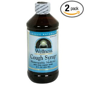 Source naturals wellness cough syrup with wild cherry bark, 8 ounce (pack of 2)