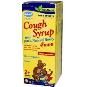 Hylands honey cough syrup 4 kids