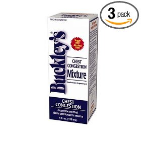 Buckleys chest congestion 3-pack