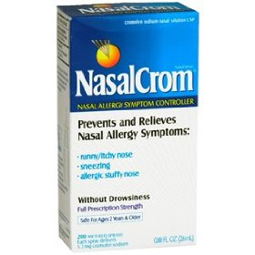 Nasalcrom cromolyn nasal spray 26ml