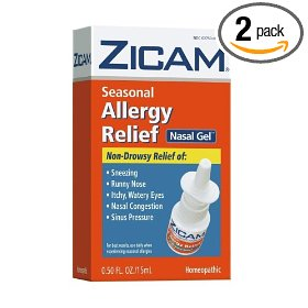 Zicam no drip liquid nasal gel, seasonal allergy relief, non-drowsy, 0.5-ounce (15 ml) (pack of 2)