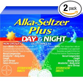 Alka-seltzer plus day/night effervescent combo pack (pack of 2)