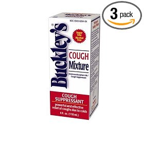 Buckleys mixture cough suppressant