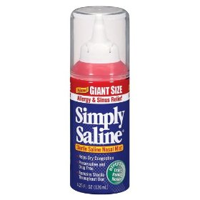 Simply saline adult nasal mist, allergy and sinus giant size, 4.25-ounce