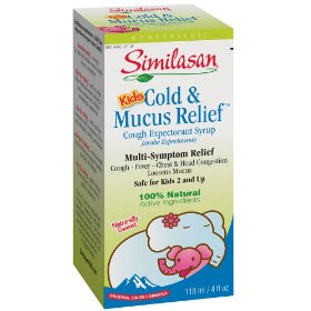 Similasan kids cold & mucus relief syrup
