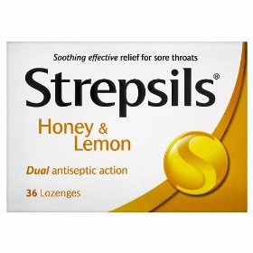 Strepsils honey & lemon 24 lozenges