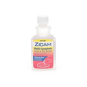 Zicam multi-symptom cold & flu relief liquid, daytime 8 fl oz