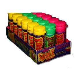 Xlear sparx candies display, assorted flavors, 18-count