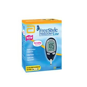 Freestyle lite, blood glucose monitoring system 1 ea