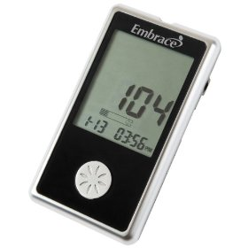 Omnis health embrace blood glucose meter with on off audible feature