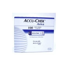 Accu-chek aviva test strips by roche diagnostics - 100 ea
