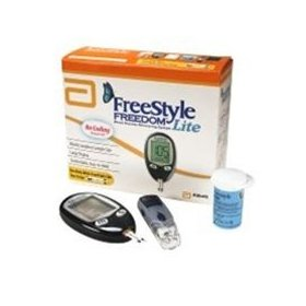 Freestyle lite meter blood glucose