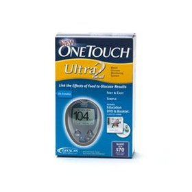 Onetouch ultra 2 blood glucose meter kit