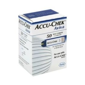 Accu-chek aviva test strips - box of 50