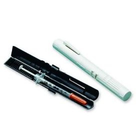 Wright prefilled syringe case 1 white 1 black