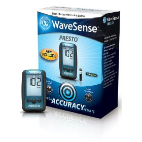 Wavesense presto blood glucose monitoring system