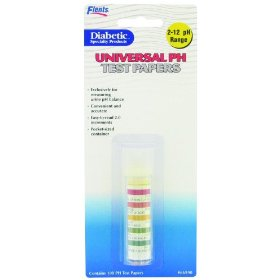 Flents by apothecary products  inc. flents universal ph test strips 2 -10 range  100-count