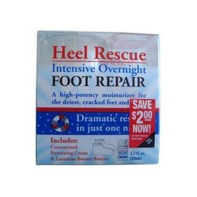 Profoot care heel rescue, intensive overnight foot repair 1.7 fl oz (50 ml)