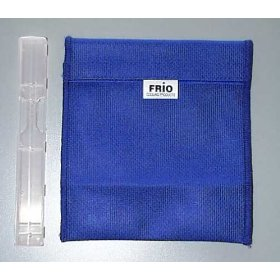 Frio small cooling wallets keep insulin safe between 60 -70 degrees for up to 45 hours with no refrigeration +(free syringe case a 3.98 value)
