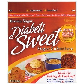 Diabetisweet Brown Sugar Substitute 16 Oz